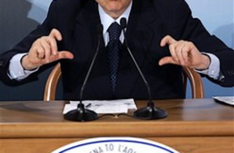 Berlusconi  248.88 (photo credit: )