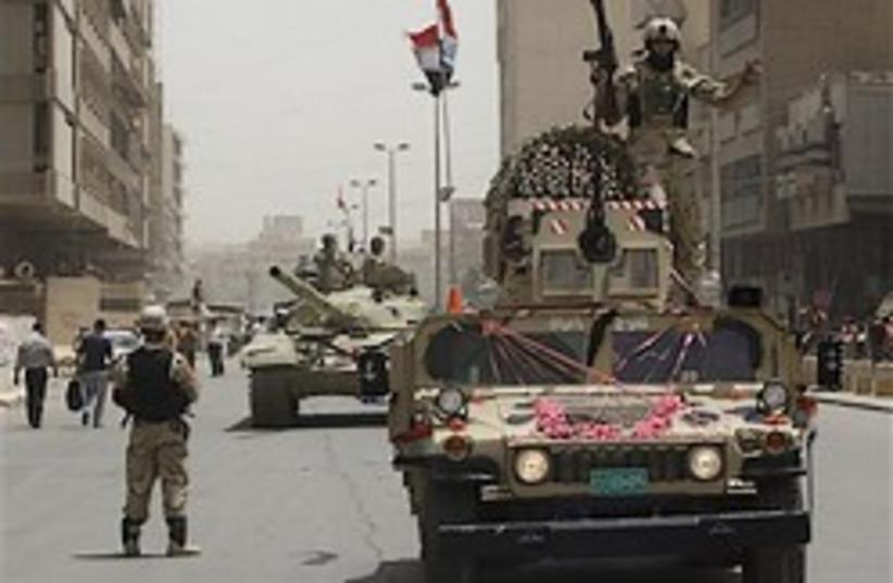 iraqi troops 248.88 (photo credit: AP)
