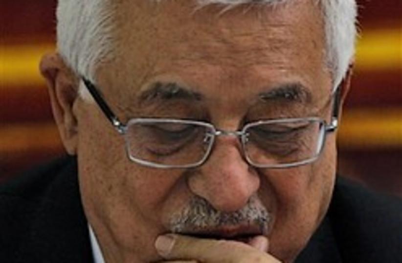 mahmoud abbas pensive 248.88 (photo credit: AP)