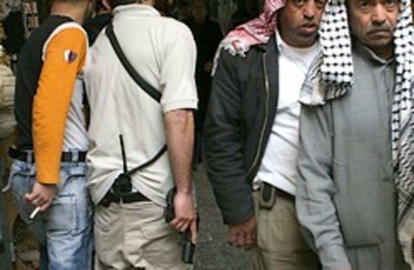 east jerusalem arabs security 248.88 AJ (photo credit: Ariel Jerozolimski)