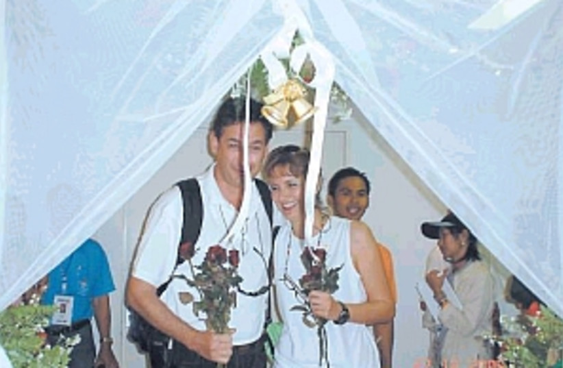 tsunami wedding 298 88 (photo credit: Courtesy)