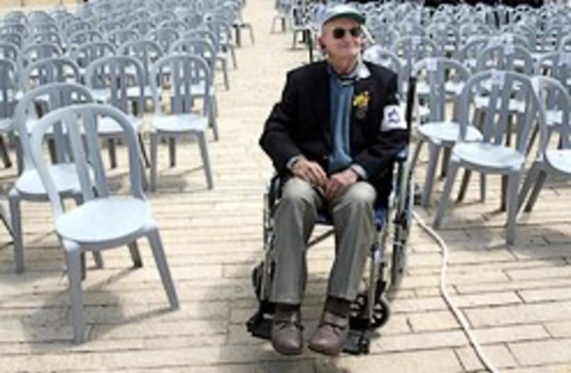 one holocaust survivor 248.88 (photo credit: Ariel Jerozolimksi )