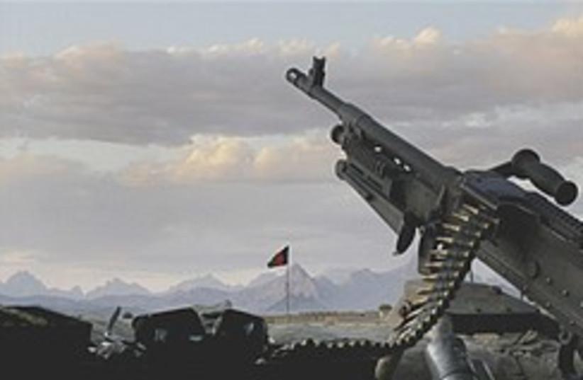 Afghan police post 248.88 (photo credit: AP)
