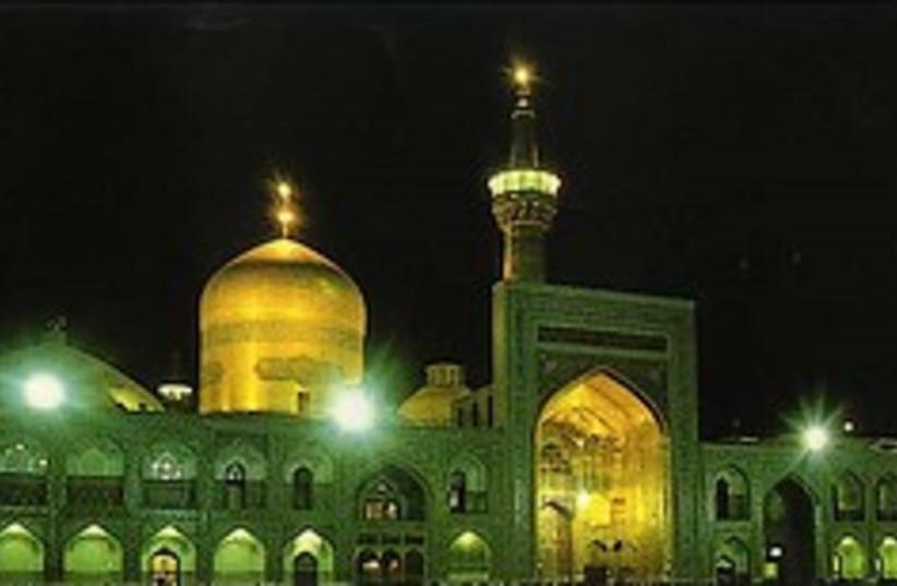 mashad Iran 248.88 mosque (photo credit: Courtesy)