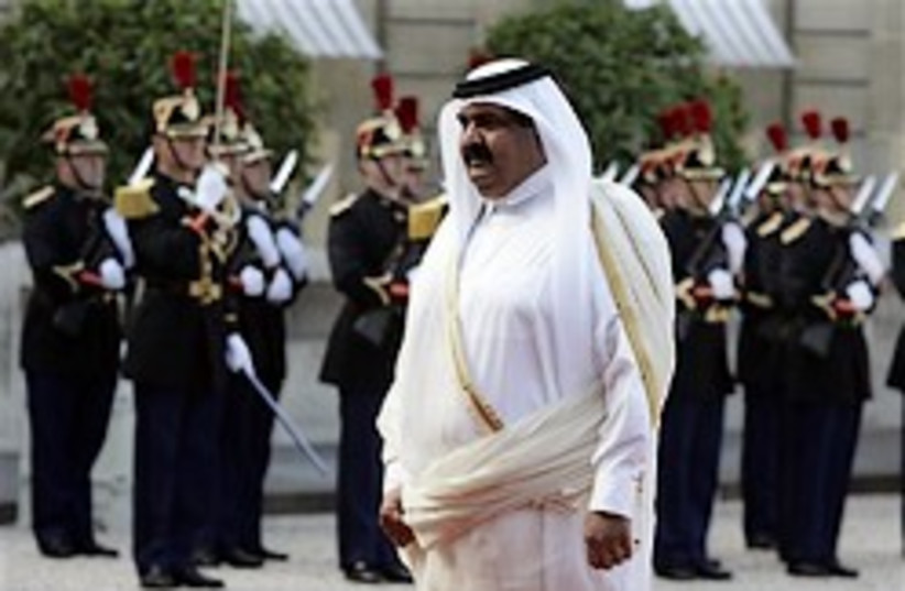 Emir of Qatar 248 88 ap (photo credit: )