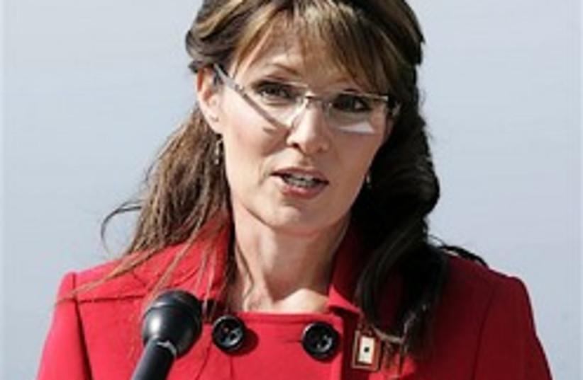 Palin 248.88 (photo credit: AP / The Mat-Su Valley Frontiersman, Robert Deberr)