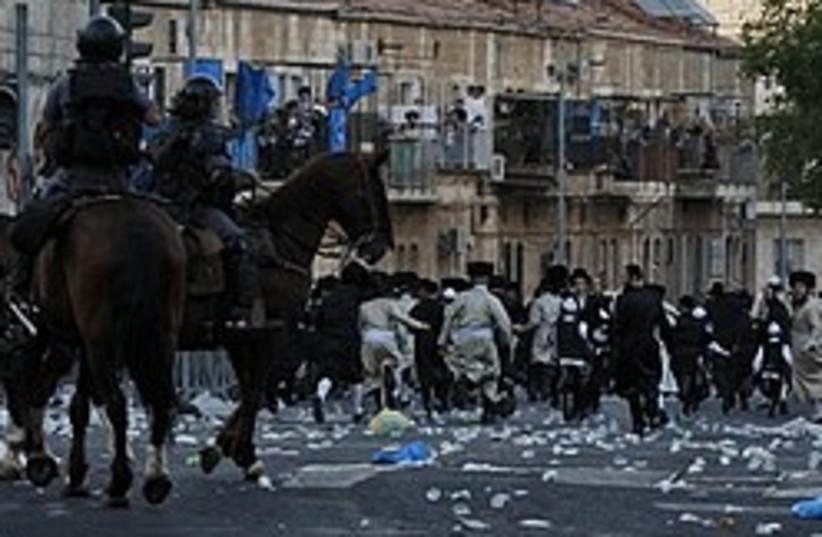 haredi protest jerusalem 248 88 ap (photo credit: AP)