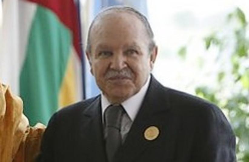 Algeria Abdelaziz Bouteflika 248  (photo credit: )