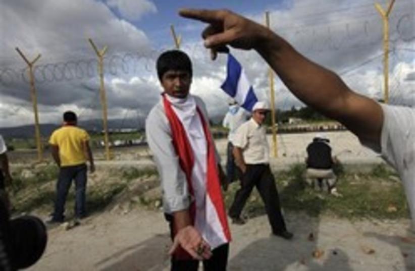 honduras coup 248.88 (photo credit: AP)