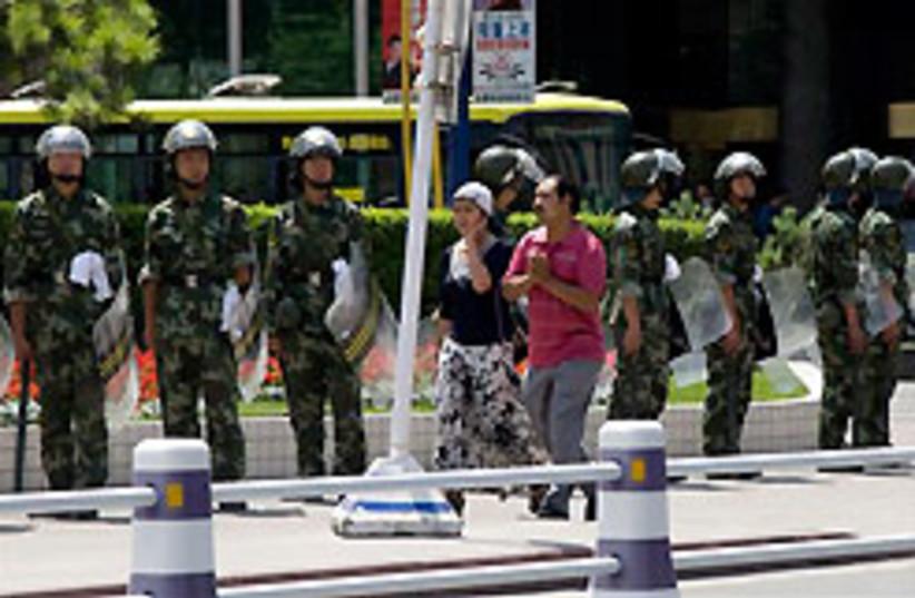 china riots 88 248 (photo credit: )