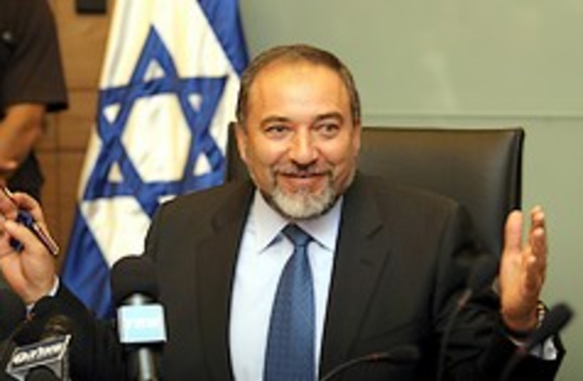 Lieberman big penis 248.88 (photo credit: Ariel Jerozolimksi )