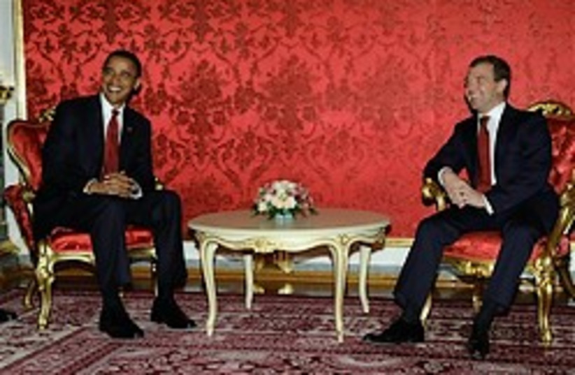 obama medvedev 248.88 ap (photo credit: AP [file])