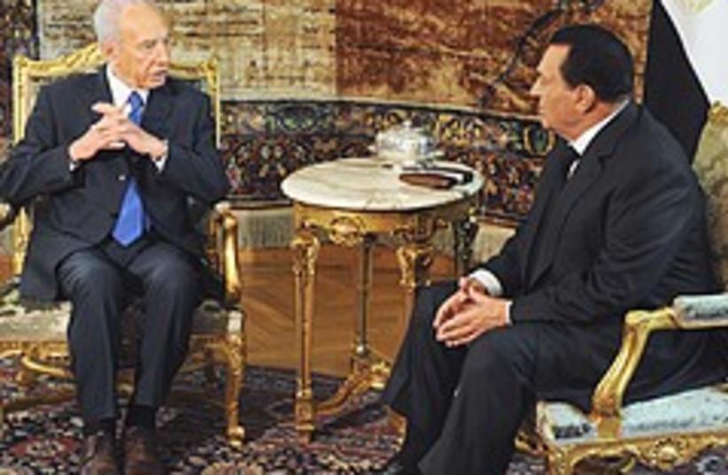 peres and mubarak 248.88 (photo credit: AP)