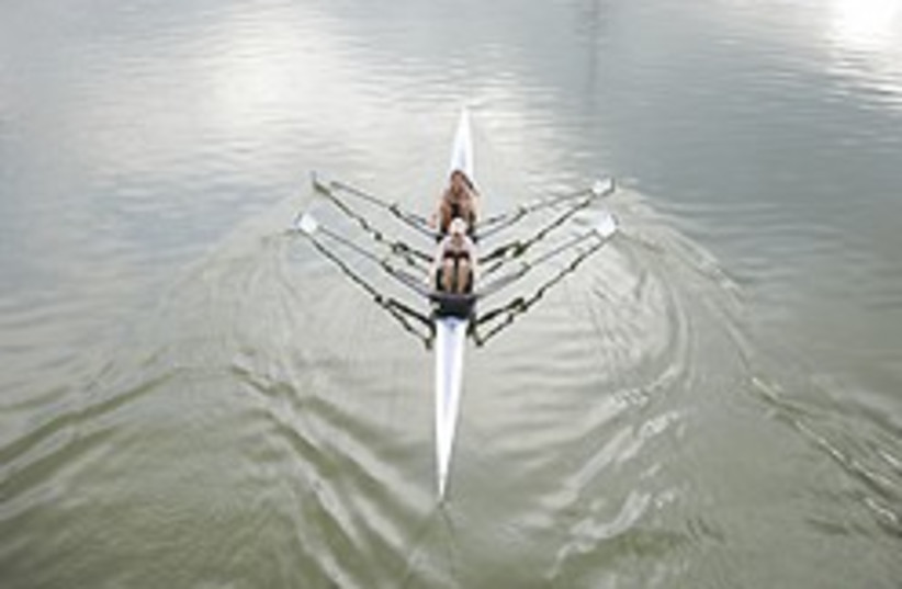 rowing 248.88 (photo credit: Asaf Kliger)