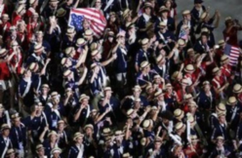 maccabiah american delegates 248.88 (photo credit: AP)
