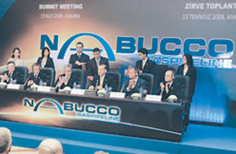 nabucco signing 88 248 (photo credit: )