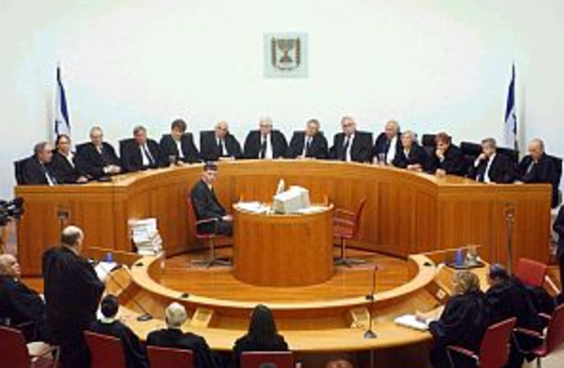 supreme court 298.88 (photo credit: Ariel Jerozolimski [file])