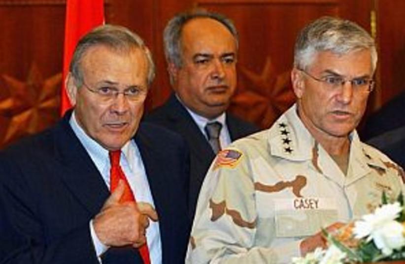 rumsfeld 298.88 (photo credit: AP )