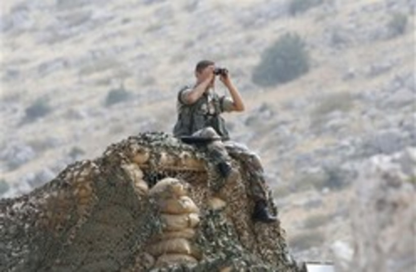lebanese soldier 248.88 (photo credit: AP)