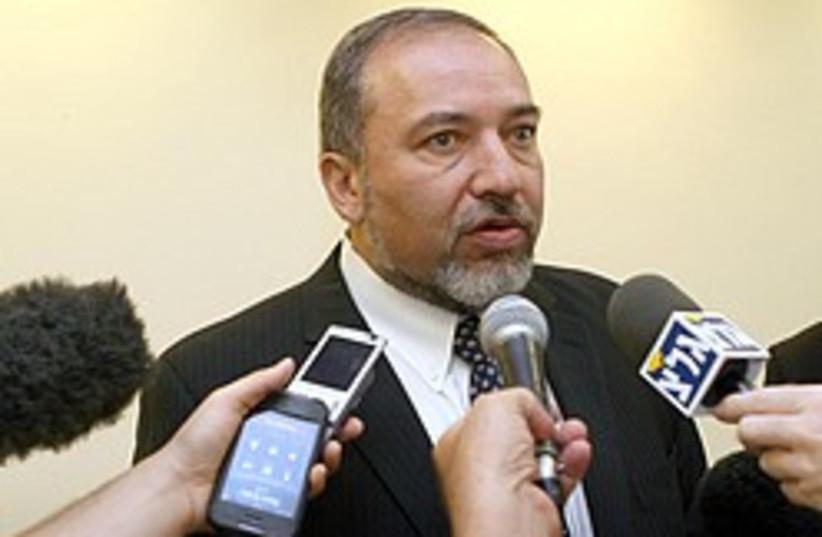 Lieberman press 248 88 aj (photo credit: Ariel Jerozolimski [file])
