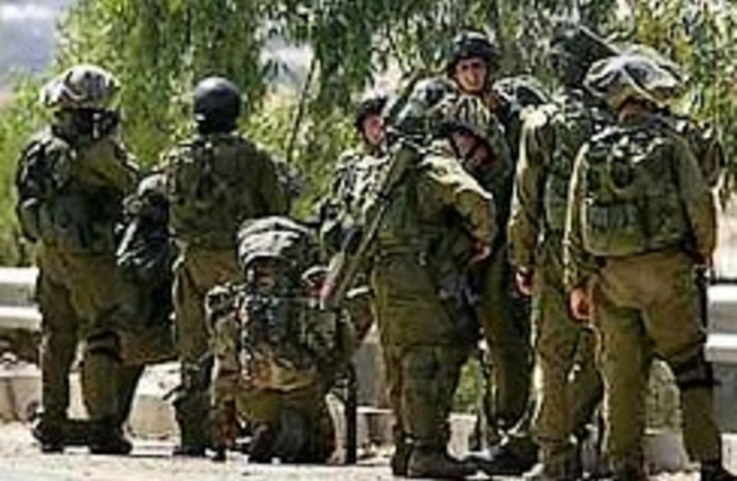 idf troops (photo credit: )