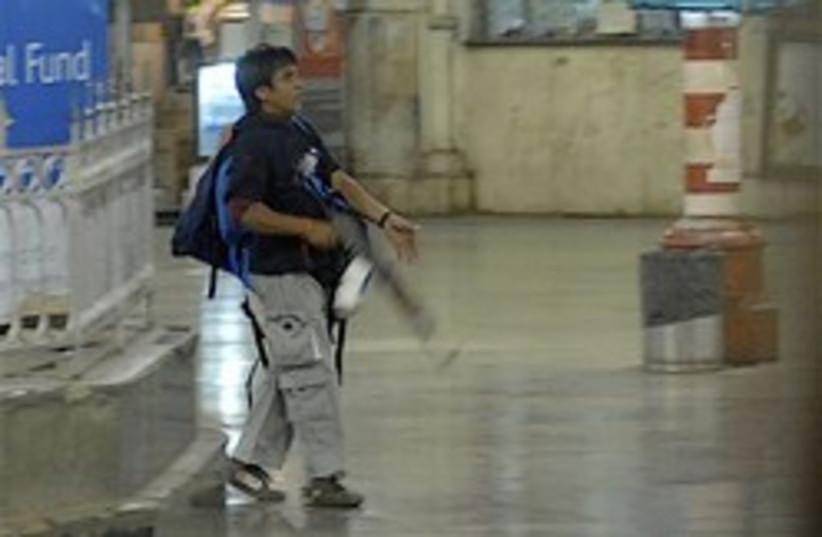 Mumbai gunman terrorist 248.88 (photo credit: AP )