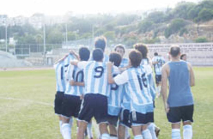 argentina maccabiah (photo credit: Elan Miller)