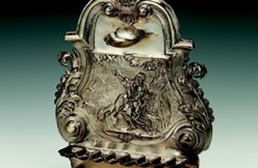hanukkiah london museum 248 88 (photo credit: Courtesy of Jewish Museum London)