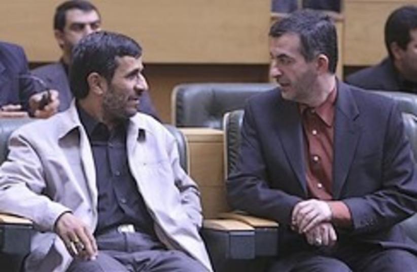 Ahmadinejad Mashai 248.88 (photo credit: AP)