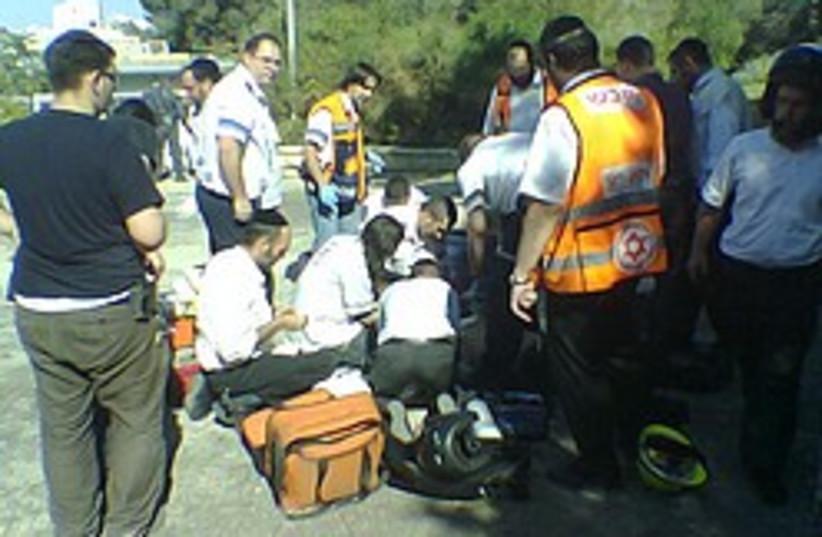 MDA jerusalem accident 248 88 (photo credit: Ram Weiner - Atar Katzar)