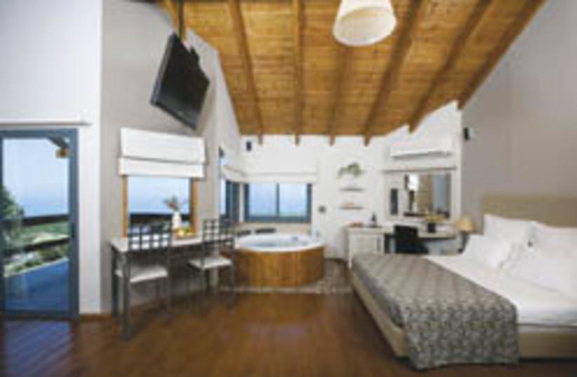 ramot resort room  (photo credit: )
