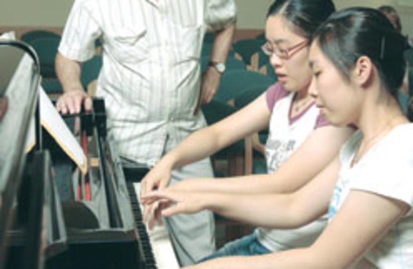 piano duet 88 248 (photo credit: Shai Shmuel)