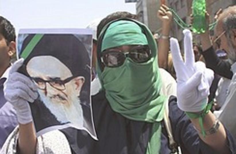 Mousavi supporter 248.88 (photo credit: AP [file])
