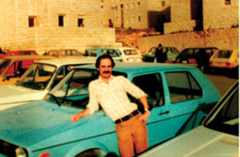dean cohen with car 88 248 (photo credit: )