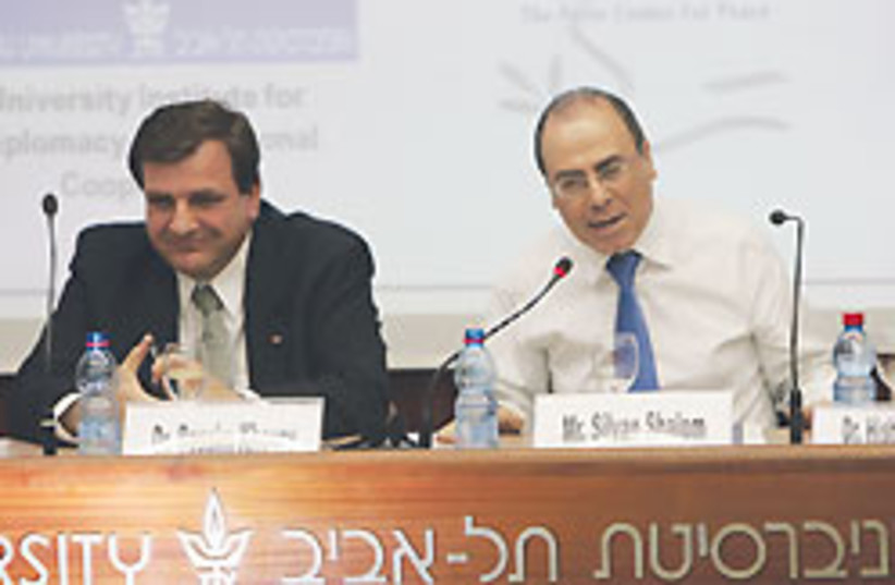 silvan shalom biz 248.88 (photo credit: Courtesy: Peres Center for Peace )