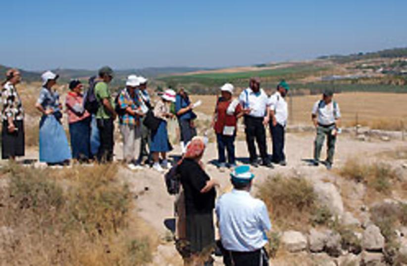 Beit Shemesh tour 88 248 (photo credit: Abe Selig)
