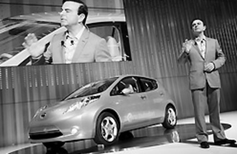 Nissan electric car 2 88 248 (photo credit: )