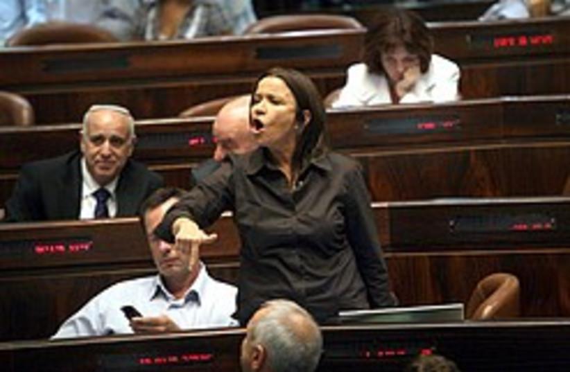 Yacimovich Knesset 248.88 (photo credit: Ariel Jerozolimksi)