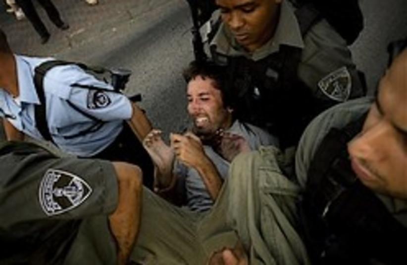 Sheikh Jarrah eviction protest 248.88 ap (photo credit: AP)