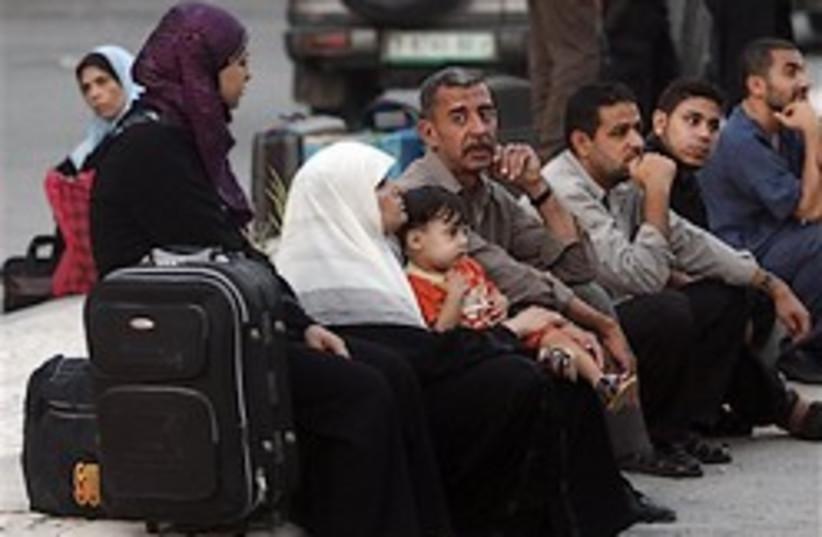 Palestinians in Rafah 248.88 (photo credit: AP)