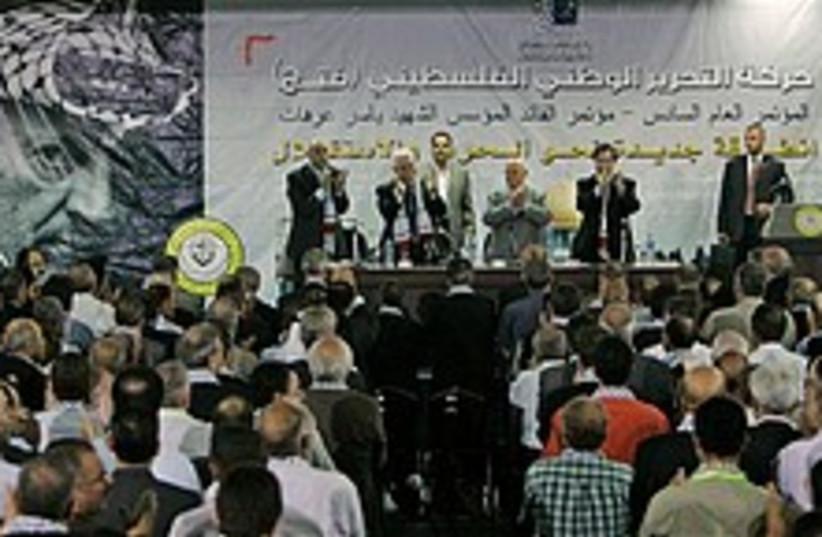 fatah conference 248 88 ap (photo credit: AP)