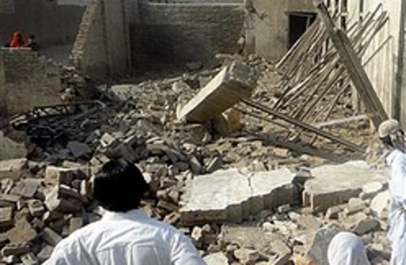 Baitullah Mehsud destroyed home 248.88 (photo credit: AP)