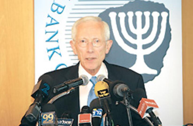 Stanley Fischer nice 248.88 (photo credit: Ariel Jerozolimski)