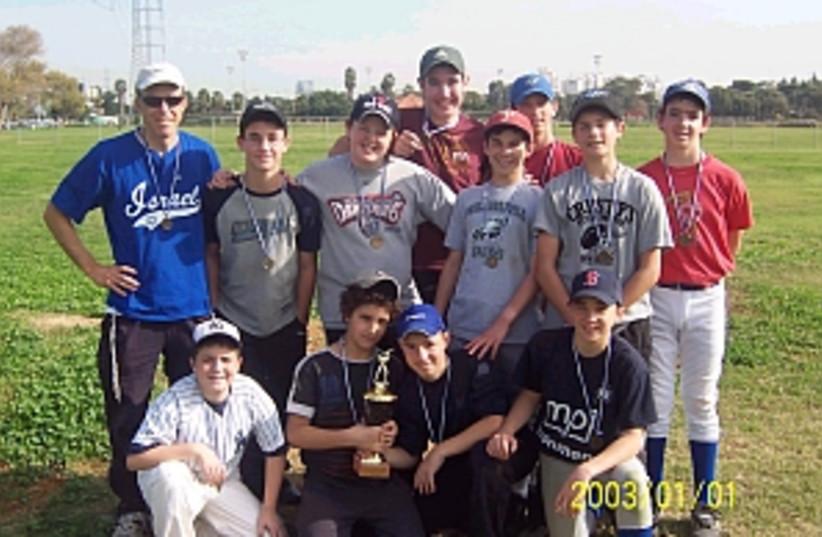 kids baseball 298.88 (photo credit: )