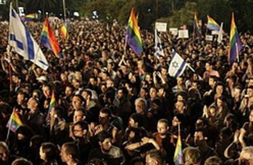 tel aviv gay rally 248 88 ap (photo credit: AP)