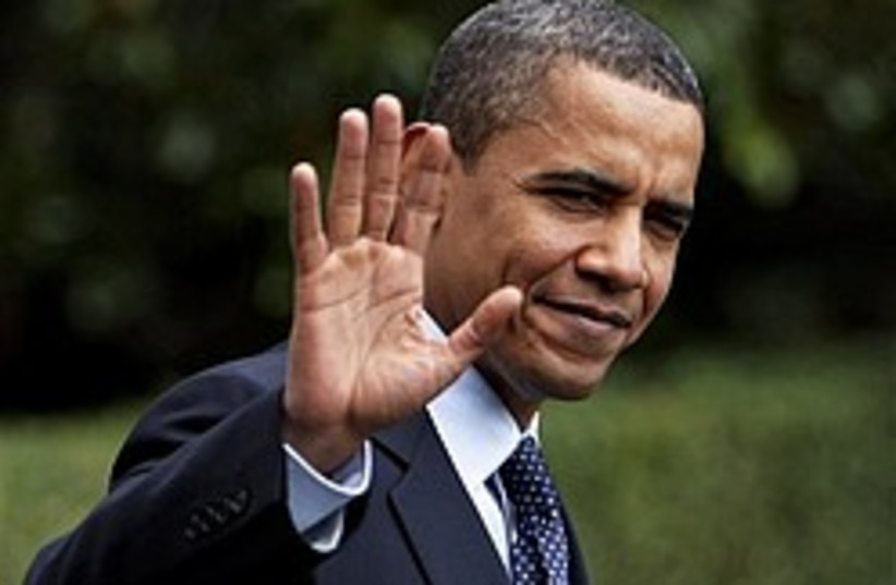 obama waves 248 88 ap (photo credit: AP [file])