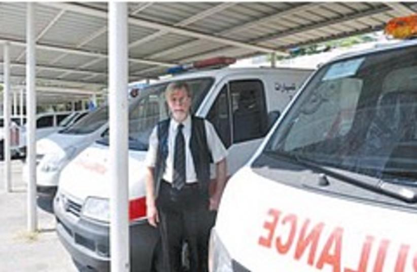 unrwa ambulances gaza 248.88 (photo credit: Courtesy of UNRWA)