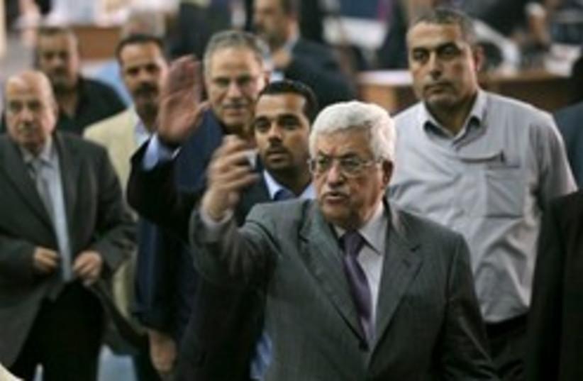 abbas fatah convention 248.88 (photo credit: AP)