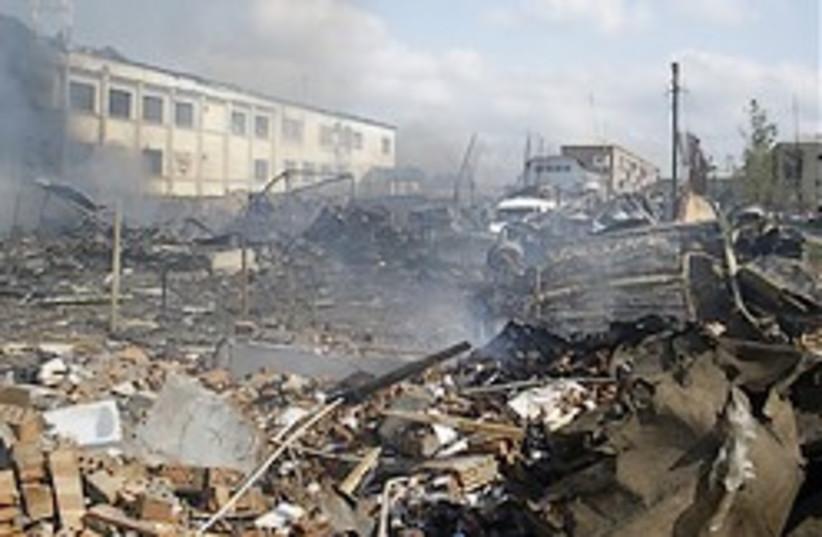 truck bombing russia 248.88 ap (photo credit: AP)