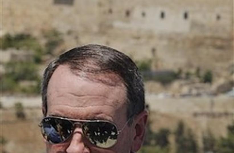Huckabee cool Jerusalem 248.88 (photo credit: )